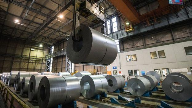 There is no  immediate hit on steel exports after US import curbs: Govt official - Sakshi