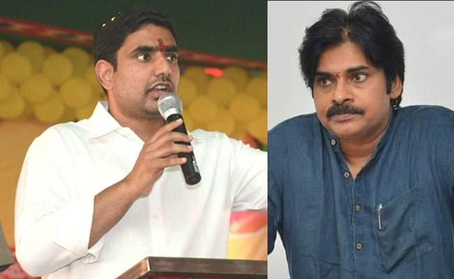 Pawan asks Lokesh to cycle to Delhi