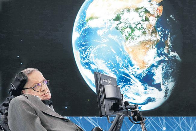 Stephen Hawking Is A Great Scientist - Sakshi