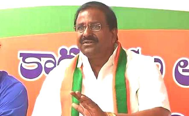 BJP MLC Somu Veerraju Fire On Chandrababu Naidu - Sakshi