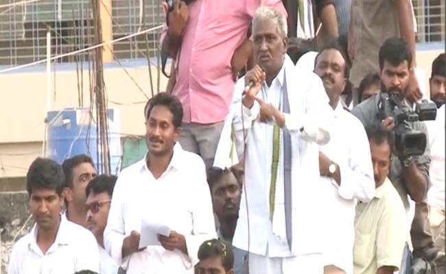 Marri Rajasekhar Fire On Prathipati Pulla Rao - Sakshi