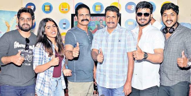 kirrak party movie success meet - Sakshi