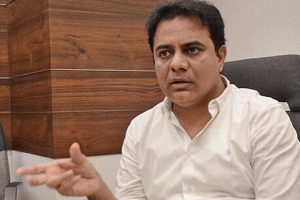 Minister ktr Fire on Defense Ministry - Sakshi