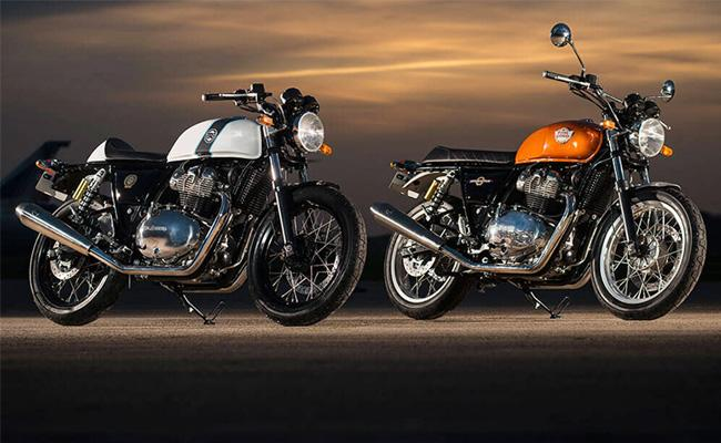 Royal Enfield 650cc Bikes Could Be Priced Near Rs 3 Lakh - Sakshi