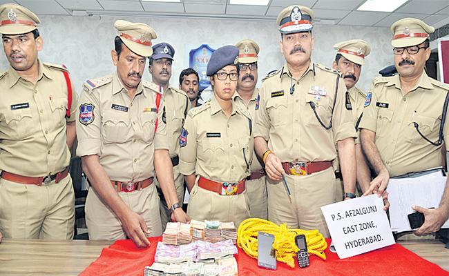 Robber Case Revealed - Sakshi