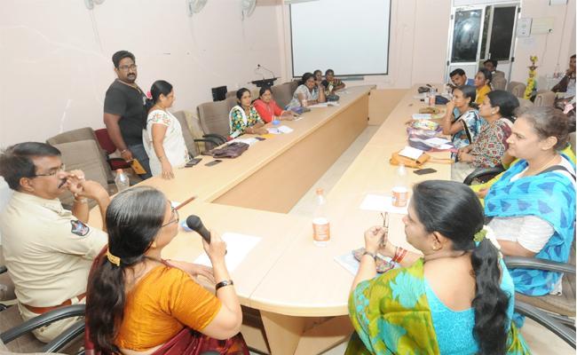 National Sex Workers Meeting In SV University - Sakshi