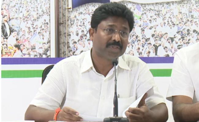 YSRCP MLA Suresh Slams TDP on Pattiseema Corruption Accusation - Sakshi