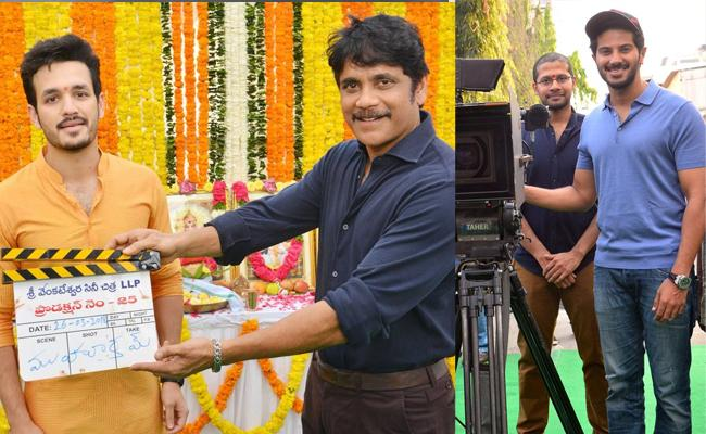 Akhil Third Project with Venky Atluri Launched - Sakshi