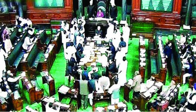 Suspense on no confidense motion - Sakshi