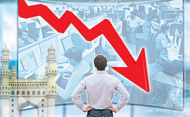 Survey says IT Jobs Decrease in Greater Hyderabad - Sakshi