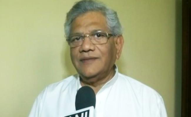 CPM Leader Sitaram Yechury on Tripura Lost - Sakshi
