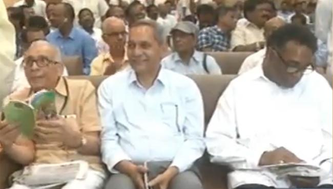 Journalist ABK Prasad Felicitated In Vizag - Sakshi