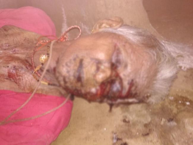 Elderly Woman Murder In Khammam - Sakshi