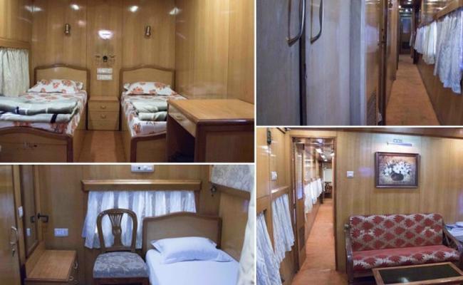 railways saloon coach - Sakshi