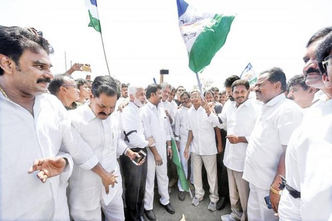 Leader of the Opposition YS Jagan on AP Special Status fight - Sakshi