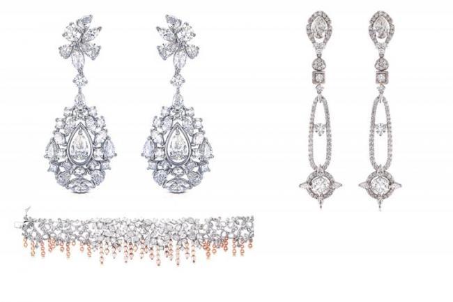 Visakha diamonds Jewelery in Oscar celebrations - Sakshi