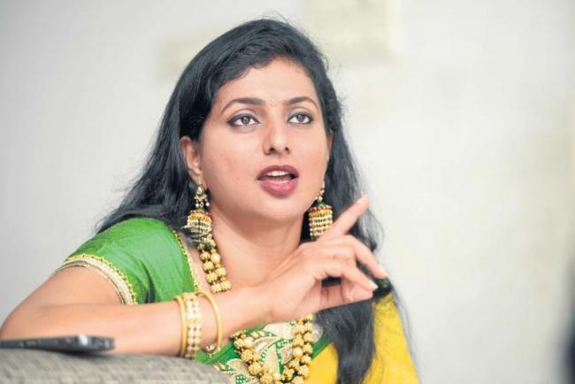 women empowerment :special interview mla rk roja - Sakshi