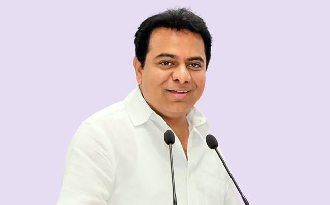 Jagadish Reddy Praises KTR - Sakshi