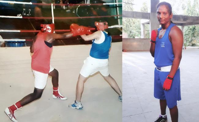 Marathamma Champion in International Boxing - Sakshi