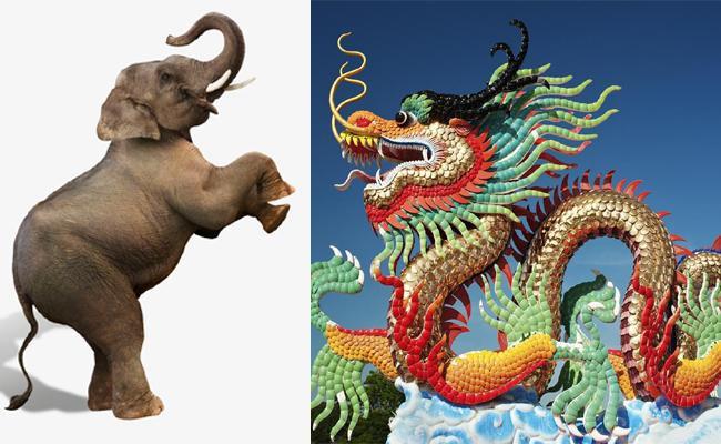 Chinese Dragon And Indian Elephant Have To Dance Together - Sakshi