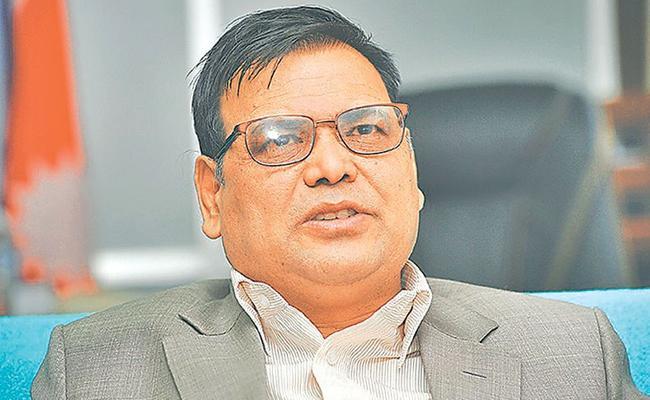 Nepal New Speaker Krishna Bahadur Mahara  - Sakshi