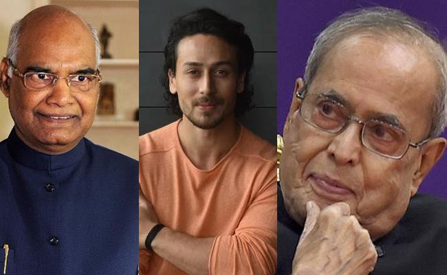 Tiger Shroff Trolled with President Of India Video - Sakshi