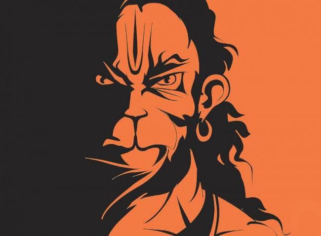 Angry Young Hanuman - Sakshi