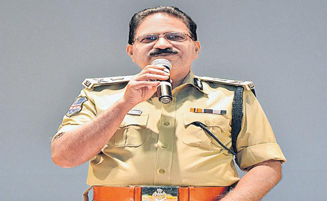 DGP Mahender Reddy Met With Three Commissionerate Officers - Sakshi