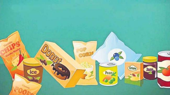 Nutrients with food packaging  - Sakshi