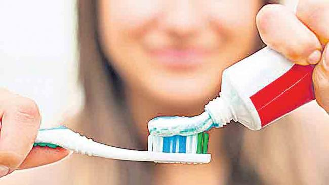Check with pepper toothpaste! - Sakshi