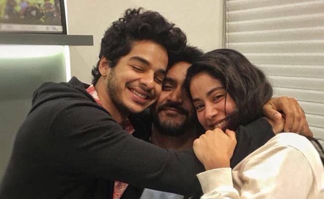 Karan Says Janhvi and Ishaan Are The Heartbeat Of Dhadak - Sakshi