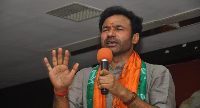 Kishan Reddy Demands Apology From Congress - Sakshi