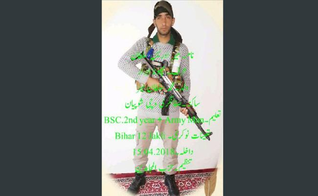 Indian Army Soldier Has Joined Hizbul Mujahideen - Sakshi