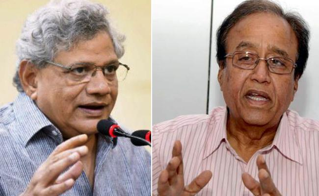 Suravaram Sudhakar Reddy And Sitaram Yechury Slams BJP And RSS - Sakshi