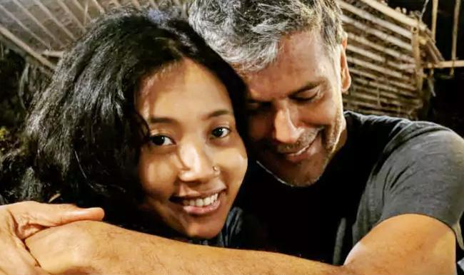 Milind Soman And Ankita Konwar Rubbishes Break Up News - Sakshi