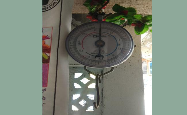 Weighing Machines Are Not In Use - Sakshi