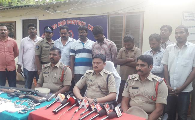 Constables Arrest In Sunil Escape Case - Sakshi