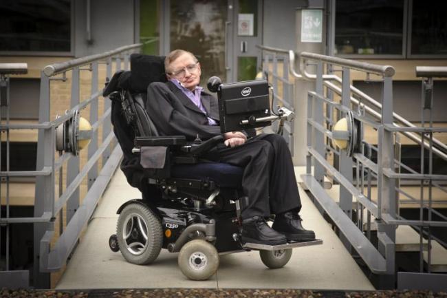 Stephen Hawking's hi-tech wheelchair to live on - Sakshi