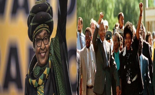 Nelson Mandela Wife Winnie Mandela Passed Away - Sakshi