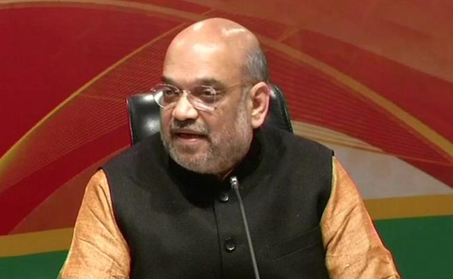 Karnataka Polls, Amit Shah Expecting More Seats In Bangalore - Sakshi