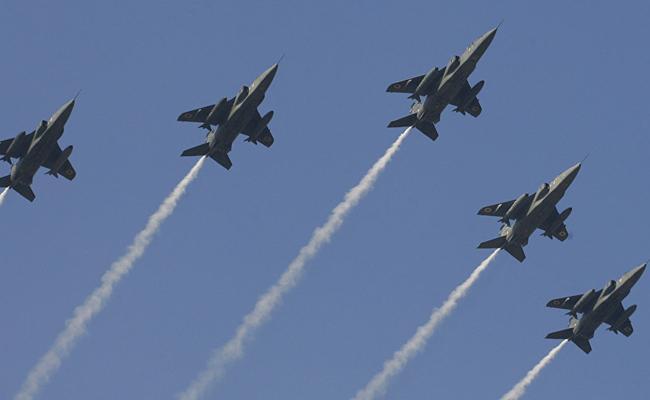 Indian Air Force Conducted Military Acrobatics - Sakshi