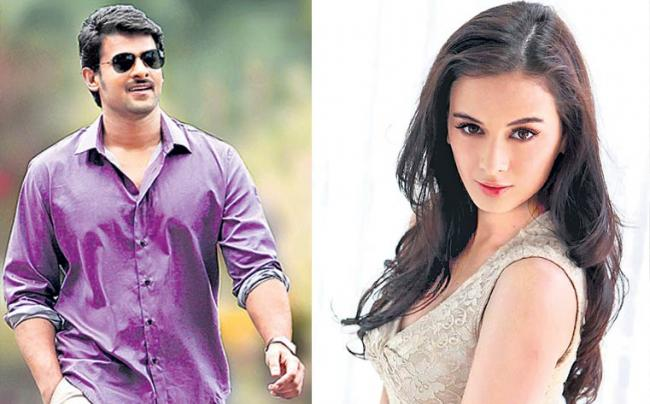 Evelyn Sharma joins Prabhas and Shraddha Kapoor in 'Saaho' - Sakshi