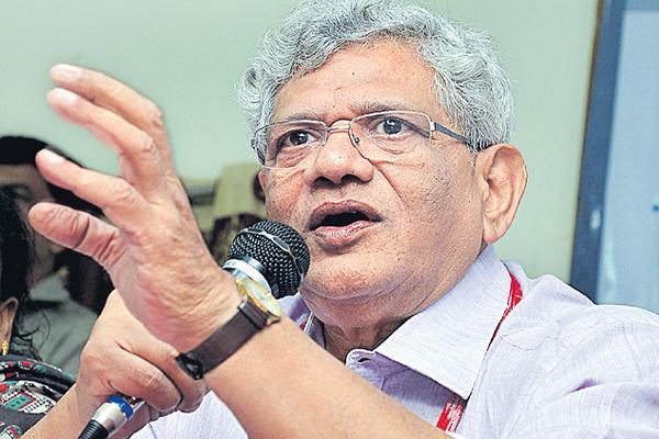 Sitaram echuri on congress - Sakshi