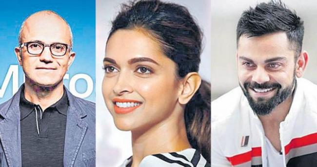 Deepika, Virat, Nadella in TIME's 100 most influential people list - Sakshi