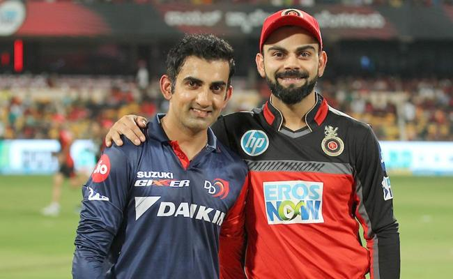 RCB won the toss elected to field first - Sakshi