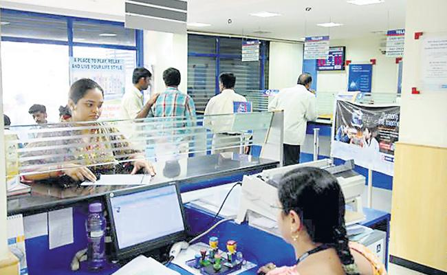 The opening of new bank accounts in India is half - Sakshi