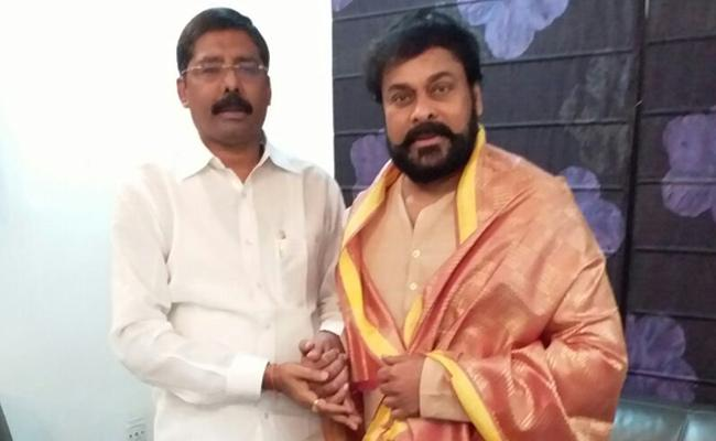 Chiranjeevi On Special Category Status - Sakshi