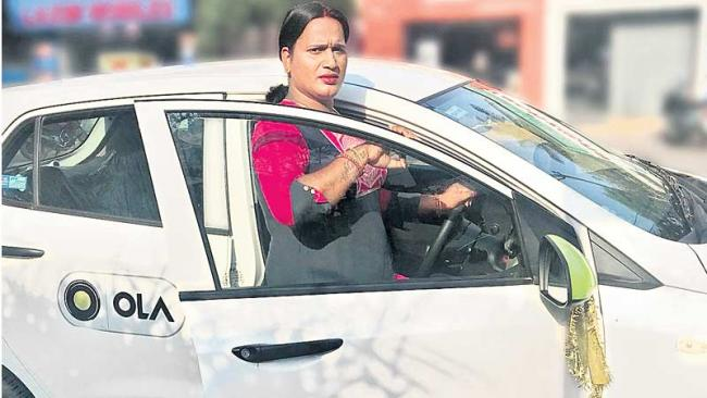 The first transgender to run the cab - Sakshi