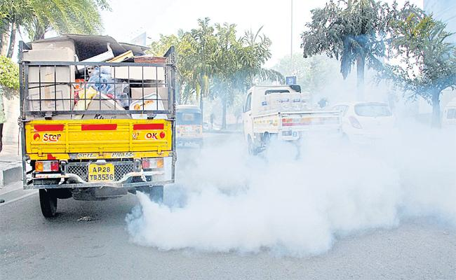 Five Dangerous Air Pollution Places In Greater Hyderabad - Sakshi