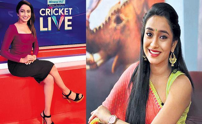 Telugu Anchor Vindhya Vishaka In IPL Hosting - Sakshi